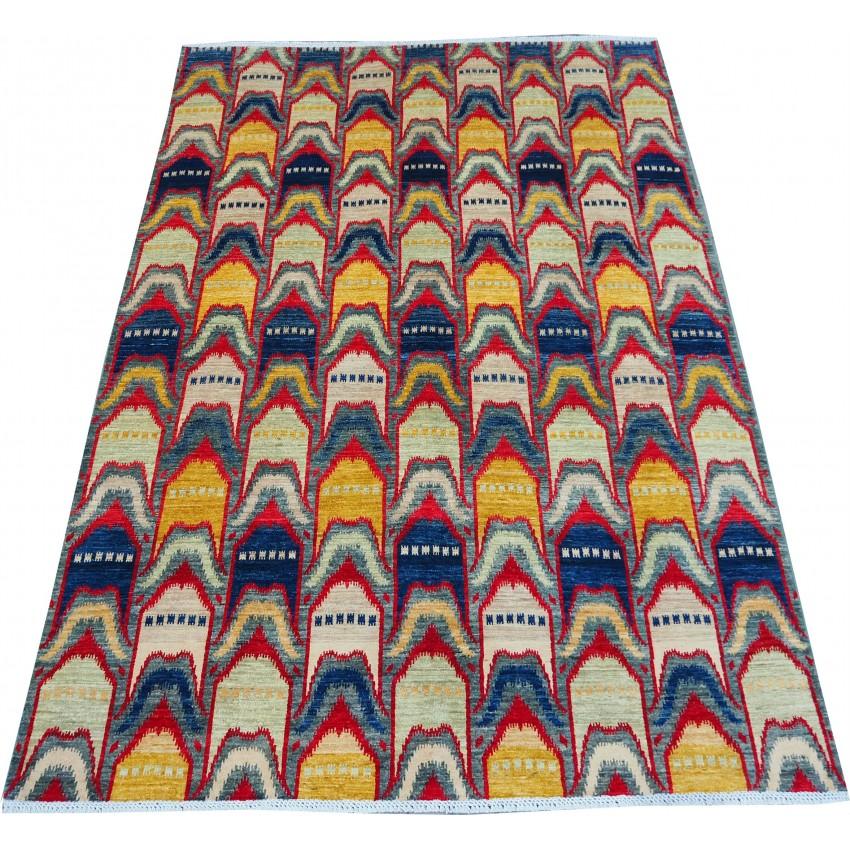 Orange  vintage Carpet  272  x 209 cm