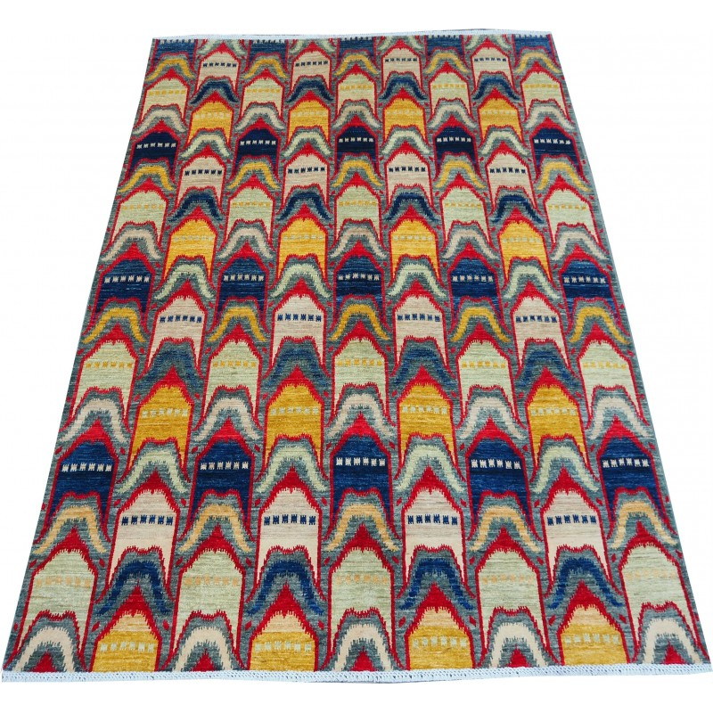 Orange  vintage Carpet  272  x 209 cm