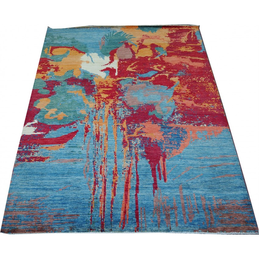 Modren Carpet With Silk Touch   366 x 266 cm
