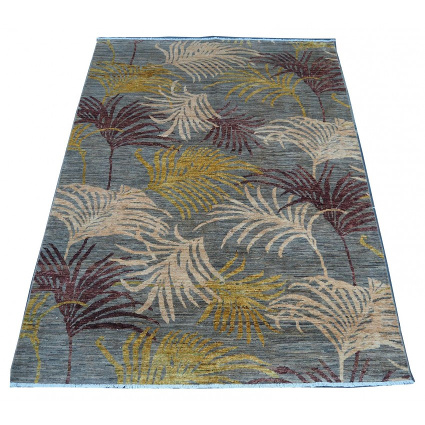 Floral contemporary stunning hand made area rug.300 x 205cm