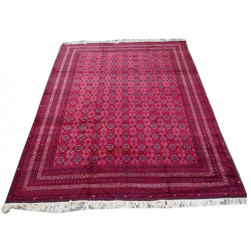 Turkmen bukhari super fine quality hand knotted area rug.450x310cm